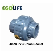 4inch PVC Union Socket, Irrigation PVC Pipe Fitting Joiner