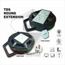 TDS 7M/10M ROUND EXTENSION TRAILING SOCKET PLUG