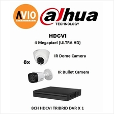 Dahua AVIO 4MP Package B MegaPixel CCTV 8 ch Channel Full HD