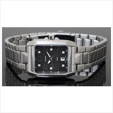 Casio SHEEN Ladies Stainless Steel Square Dress Watch SHE-4023D-1ADR