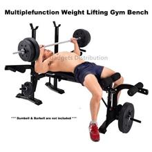 YiChiJian  Fitness Multifunction Weight Lifting Gym Bench Chair