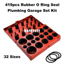 419pcs 32 sizes Rubber O Ring Oring Seal Plumbing Garange Set Kit