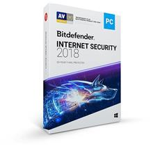 GENUINE BITDEFENDER INTERNET SECURITY 2018 RETAIL (1 YEAR 3 USER)