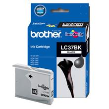 GENUINE BROTHER LC-37 BLACK INK CARTRIDGE **NEW**SEALED BOX