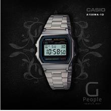 CASIO A158WA-1 DIGITAL RETRO WATCH ☑ORIGINAL☑
