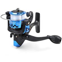 FISHING REEL WITH WIRE (BLUE)