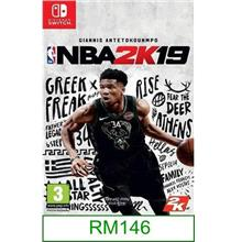 Nintendo Switch NBA 2K19 ★Brand New & Sealed★