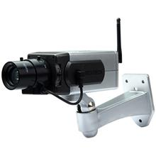 BATTERY POWERED PRACTICAL ECONOMIC DUMMY CCTV SECURITY CAMERA WITH ACTIVATION