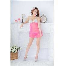 cf8ba451156d4 Sexy Lingerie Sleepwear Nightwear Dress Pyjamas 16270 Rose Red