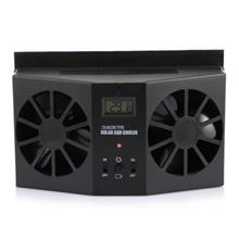 AUTO VENTILATION CAR COOLER SOLAR POWERED EXHAUST FAN (BLACK)
