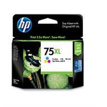 HP 75XL COLOR INK CARTRIDGE (CB338WA)