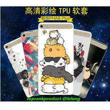 Lenovo Phab Plus PB1-770N Cartoon Silicone TPU Back Case Cover Casing