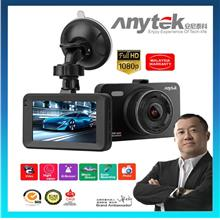 (Hot) Anytek 🔥 A78 3' IPS Car DVR WDR G-Sensor Night Vision Dash Cam