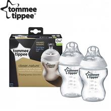 Tommee Tippee Closer to Nature 260ml/9oz Bottle Twin Pack *Best Buy*