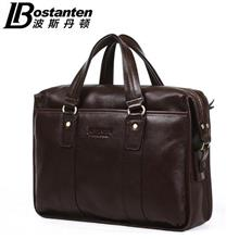 Ori Bostanten Cow Leather Handbag Messenger Shoulder Briefcase Bag