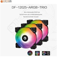 ID-Cooling DF 12025-ARGB Case Fan Trio Set