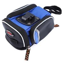 CBR C2 OUTDOOR CYCLING REAR SEAT SADDLE BICYCLE BIKE TAIL BAG POUCH (BLUE)