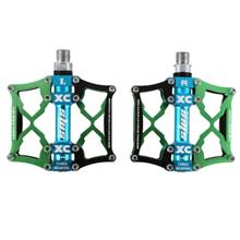 SHANMASHI Paired Cycling Mountain Bicycle Bike Bearing Pedal (GREEN)