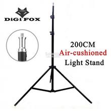 DigiFox 200cm Air-cushioned Light Stand Tripod For Studio Lighting