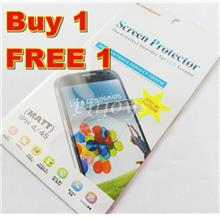 2x MATTE Anti Glare LCD Screen Protector Apple iPhone 4 4S ~Front Back