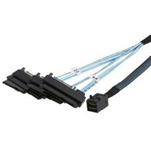 MINI SAS SFF 8643 to SAS SSD SATA Power Split Cable 4x