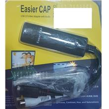 EASIER CAP USB2.0 VIDEO ADAPTER WITH AUDIO CAPTURE