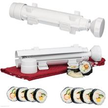 Sushi Maker Kit Rice Roll Mold Kitchen DIY Easy Chef Set Mould Roller ..