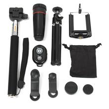 All in 1 Accessories Phone Camera Lens Top Travel Kit For Mobile Smart