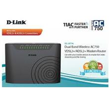 D-LINK WIFI N300 DUAL-BAND AC750 MODEM ROUTER FOR UNIFI (DSL-2877AL)