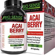 [FromUSA]Bio Sense Acai Berry Natural Weight Loss Supplement 600 mg Pure Fat B