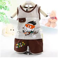 00398 Nature Explorer Baby Kids Singlet Set
