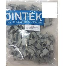 Dintek RJ45 Rubber Boot for Network Cable 100pcs (GREY)