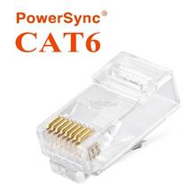 PowerSync LAN RJ45 CAT6 Connector Plug 50pcs (PRC6T-50)