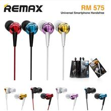 REMAX WIRED EARSET PURE MUSIC QUALITY SOUND RM-575? (OR-RM575)