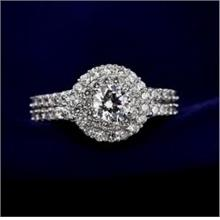 Noble Full Zircon Diamond Ring