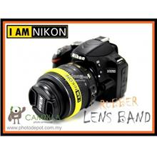 NIKON Logo Silicone Rubber Lens Band , Flash Band , Wrist Band