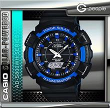 CASIO AD-S800WH-2A2 SOLAR POWERED WATCH ☑ORIGINAL☑