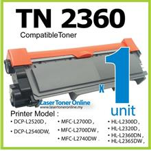 TN2360 Compatible Brother MFCL2700D MFCL2700DW MFCL2740DW Laser Toner