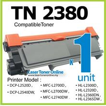 TN2380 Compatible Brother MFC-L2700D L2700DW L2740DW Laser Toner 2700
