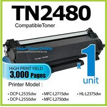 TN2480 Compatible Brother DCP L2535dw L2550dw MFC L2715dw L2750dw 2480