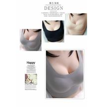 00432 Seamless Removable Massage Pad Non Underwire Bra