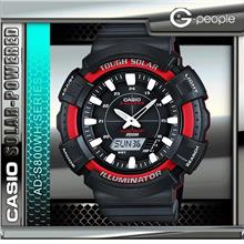 CASIO AD-S800WH-4A SOLAR POWERED WATCH ☑ORIGINAL☑