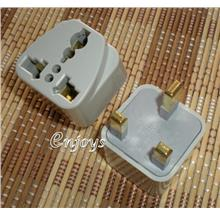 Enjoys: 2pcs Converter Universal Travel Adapter Plug ~Use for Any Head