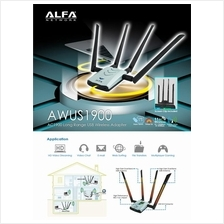 Alfa AWUS1900 802 11ac 1900 Mbps Dual band USB Wifi Adapter