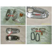 Mercedes Benz C-Class W202 '94-'99 Side / Fender Lamp With Chrome Rim