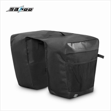SAHOO 142004 Multifunctional Bicycle Pannier Bag Trunk Pack (BLACK)