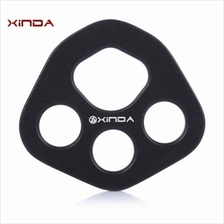 XINDA ALUMINUM MAGNESIUM ALLOY RIGGING PLATE WITH FOUR HOLES FOR OUTDOOR CLIMB