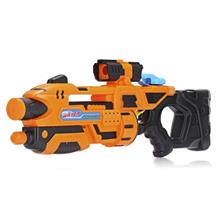 YJ8188 - 1 Children Large Size High-pressure Water Gun Toys (PAPAYA ORANGE)