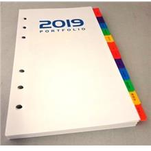 Year 2019 Weekly Planner Refill Set A6