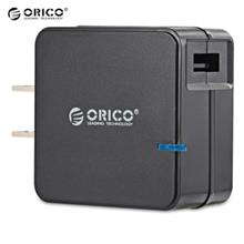 ORICO QCW - 1U 18W QC 2.0 SINGLE USB SMART WALL CHARGER (BLACK)